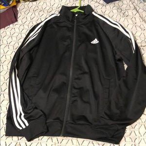 Black/White Adidas Jacket